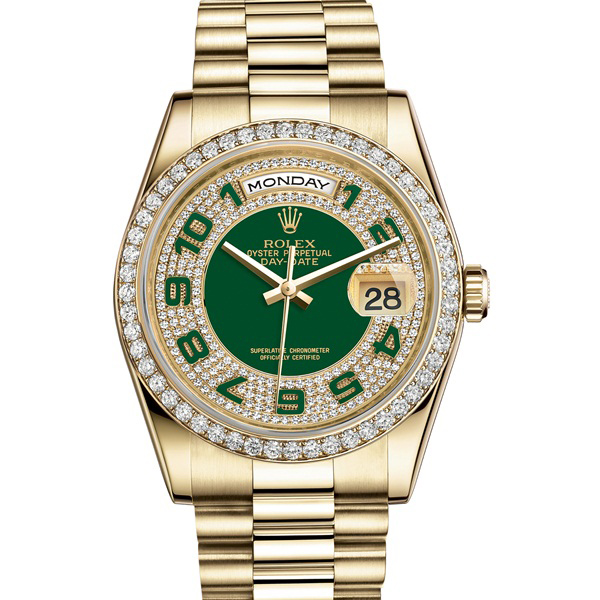 Đồng hồ nam cao cấp Automatic Rolex Day-date RL04