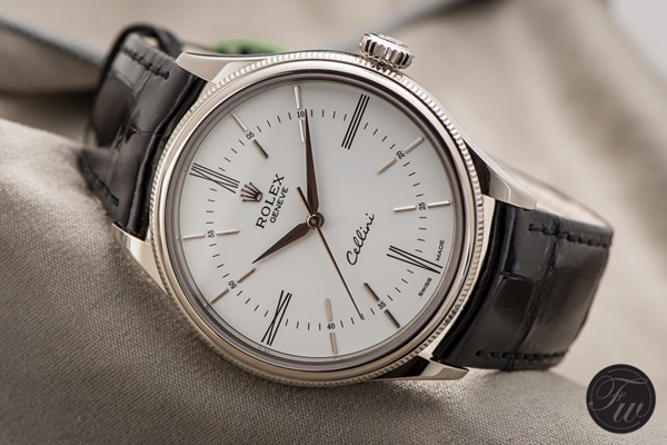 Đồng hồ nam cao cấp Rolex Cellini Time White