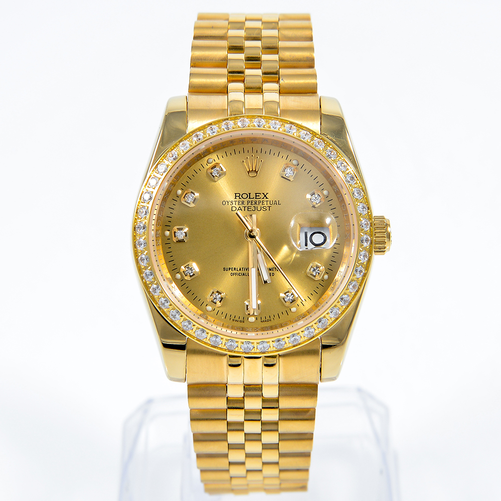Đồng hồ nam cao cấp Rolex Automatic Full Gold RL005